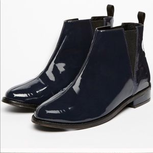 Jack Wills Parent leather chelsea boots